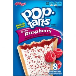 Kelloggs Pop Tarts Raspberry Frosted