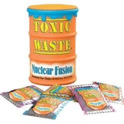 Toxic Waste Nuclear Fusion Candy oranje tonnetje.