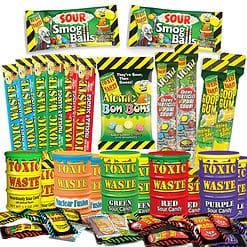 Toxic Waste snoep pakket 23 delig.