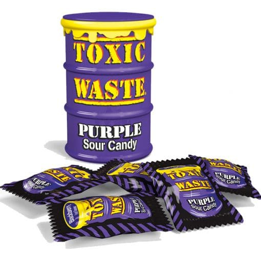Toxic Waste Purple Sour Candy