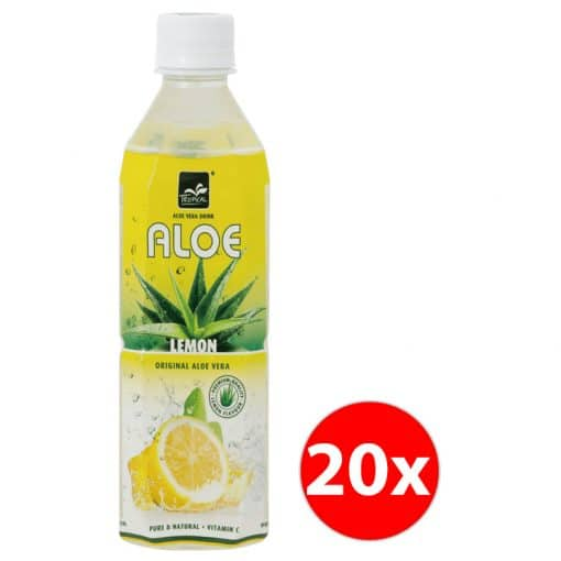 Tropical Aloe Vera Lemon 500ml Doos (20x)