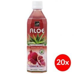 Tropical Aloe Vera Pomegranate 500ml Doos (20x)