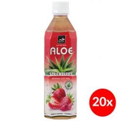 Tropical Aloe Vera Strawberry 500ml Doos (20x)