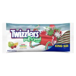 Twizzlers Christmas Pull n Peel Candy King Size 119g.