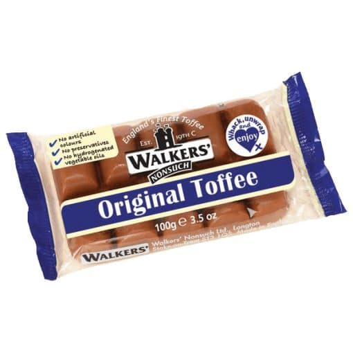 Walkers Nonsuch Original Toffee 100 gram