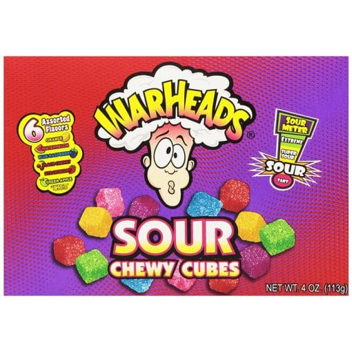 WarHeads Sour Chewy Cubes Theatrebox
