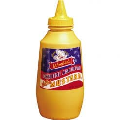 Woebers Genuine American Yellow Mustard